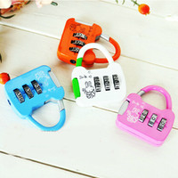Wholesale Smile Rabbit MINI Padlock Sweetheart Gift Bag Lock Privacy Diary Lock Promotion Gift SH708
