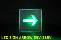 Wholesale LED SIGN V V supermarket bar restaurant parking exit arrow led sign led direction board marking light led sign