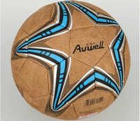 Wholesale original European champion cup Soccer ball outdoor football leather ball High Quality PU size for hard ground