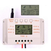12V/24V solar panel regulator - LCD A V V Solar panel charge controller MPPT type regulator with great price