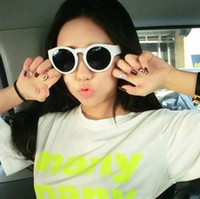 PC Sports Butterfly free shinppingStreet fashion models Korean stylenanda candy jelly ice cream glasses sunglasses sunglasses yubsshop X6