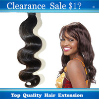 beauty supplies - Sexy Beauty Supplies Fast Real Indian Virgin Human Hair Weave Natural Black Body Wave Mix Length