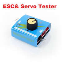 Wholesale ESC CCPM Servo Consistency Master Tester for rc aircraft helicopter car airplane meter