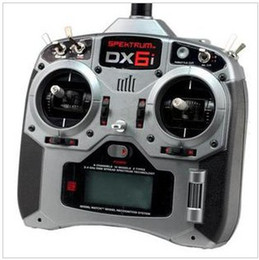 Wholesale DX6i RC Full Range GHz DSM2 channel Remote Control with ED7000e receiver Mode1 or Mode2 for Helicopters Airplanes