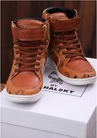 Wholesale 2013 New Fashion MCM Visetos Brown Urban Nomad High Fashion Sneakers Shoe