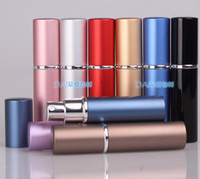 Portable Perfume Bottle 6ML Aluminium Anodized Compact Perfu...