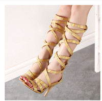 gladiator high heel sandals