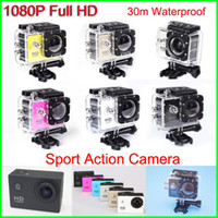 bicycle camcorder - New Helmet Sports DV P Full HD H MP Car Recorder Diving Bicycle Action Camera Sports Waterproof Video Camera Camcorder DV SJ4000