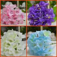 more artificial hydrangea stems - More Colors available for the cm Long Stem Silk Artificial Hydrangea Laurustinus Flower Home Decoration Several Colors Availablr