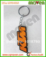 Wholesale 10pcs Soft PVC Key Chain Motorcycle Rubber For KTM Keychain Key Rings Price