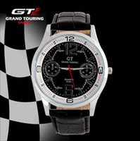 Fashion Unisex Not Specified NEW HOT GT brand Men Sport Watch Military Watches Movement Wristwatch black Clock Drop Leather Strap Military watches