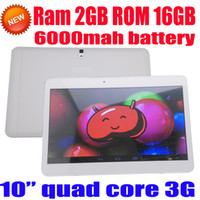 Wholesale Newarrival inch quad core tablet phablet pc android Ram GB rom GB wifi gps built G phone call gps wifi bluetooth FM MP camera HD