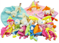 Wholesale 2014 brand new baby toys towels newborn plush doll