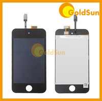 Wholesale 10PC Complete LCD Display Digitizer Assembly Replacement for iPod Touch th Touch Screen Test