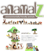 Wholesale new arrive Maple animal Australia Anamalz organic maple wooden animal dolls farm educational toys wildlife