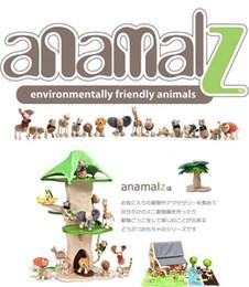 Wholesale new arrive Maple animal Australia Anamalz organic maple wooden animal dolls farm educational toys wildlife