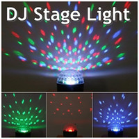 Wholesale Free DHL UFO LED Crystal Magic Ball Party Stage Laser Light lighting Projector laser DJ party disco light