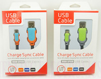samsung cell phone - 1 M Charger cable USB DATA CABLES polyamides cell phone cables Micro for Samsung HTC SONY