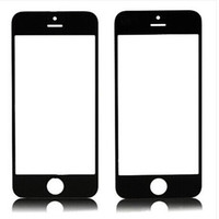 For Apple iPhone front glass iphone 4 - DHL black white For iphone G S GS C G S iphone5S Front Outer LCD Screen Glass Lens Touch Screen Cover Replacement Repair Part