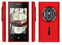 Wholesale 3 Inch HTM MINI1020 smartphone Android4 HVGA HD screen dual sim dual standard M RAM M ROM bluethooth FM cell phone