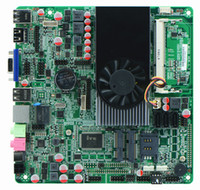 Wholesale intel u mini itx motherboard with HDMI output for HTPC thin client max gb ddr3 ram