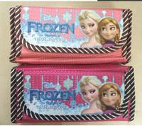 Calligraphy & Fountain Pens   2014 Retail Frozen pen bag princess Elsa anna Pencil case Bag Children Girl's Cartoon Fashion girl pencil Bag