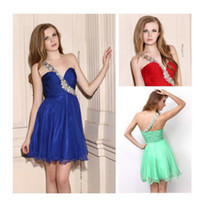 Dresses Real Cheap One Shoulder Graduation Dresses for 8th Grade ...