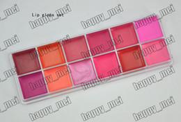 Wholesale Factory Direct New Professional Makeup Basics FG12 Colors Lip Balm Palette