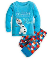 Cheap Girl Frozen Best Summer  pajamas set