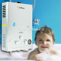 Wholesale US Local Shipping New L LCD screen GAS LPG Boiler Propane Tankless Hot Water Heater Shower Boiler
