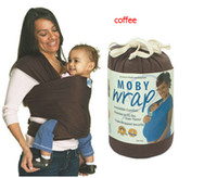 Wholesale Via DHL colors Fashion Baby Infant Carrier Sling Moby Wrap NewBorn Comfort Top Selling