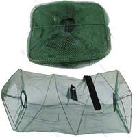 Wholesale Hot Sale Foldable Crab Fish Crawdad Shrimp Minnow Fishing Bait Trap Cast Dip Net Cage PY