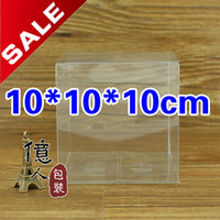 Plastic clear pvc boxes - 10 centimeter size clear PVC box gift packaging cake boxes and package plastic box