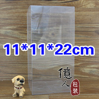 Wholesale Spot PVC clear plastic packaging box Box used to display dolls jewelry gift etc cm Lowest price