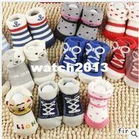 Unisex 0-6Mos Summer Wholesale-girls boys Baby socks lot Family Baby outdoor shoes kids Walking socks Children Kid's gift 12 pair lot