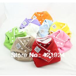 Bébé tissu réutilisable couche nappy à vendre-Nappy Nappy Couches de couches 10 couches + 20 inserts en microfibre