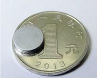 Wholesale 1000pcs N35 neodymium iron boron rare earth Magnets mm x mm round shape