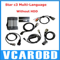 other For Benz Benz Diagnosis 2014 Hot Item Lowest Price+Best Quality 22 Languages Super Star Diagnsois C3 MB Star C3 pro without HDD Full Sets From Yoga