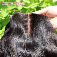 Brazilian Hair Natural Color Body Wave Free shipping 6A Silk base lace closure body wave Brazilian virgin hair 4x4 Unprocessed Queen hair products Free style middle part or 3 part