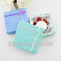 Wholesale Jewelry Box New Fashion Design Colorful Paper Jewelry Gifts Bangles And Bracelets Packaging For Women