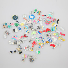2018 High Quality Random Assortment Fashion Alloy Floating Charms For 316L stainless steel Photo Locket 480pcs