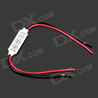 Wholesale 10pcs W Single LED Dimmer Controller Switch V V For Led Strip White Black Red