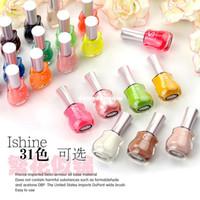 Wholesale soak off nail polish colors optional new arrive fashion creative china glaze nail polish french nail designs magnetic