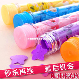 Wholesale washing cleaning bathCraft Flower paper petals shape soap tube gift organtic wedding favor mulit co