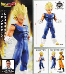 Wholesale Original Banpresto Dragon Ball Z Master Stars Piece MSP Super Saiyan Vegeta Figure