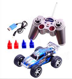 Blue Colour RC Car+RC Revolt 1:22 WL 2019 High-Speed off-road Remote Control Car