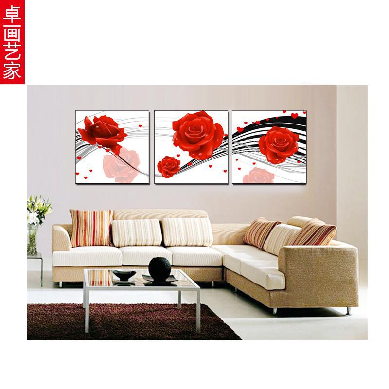 Tableau moderne pour sejour for Tableau de decoration moderne