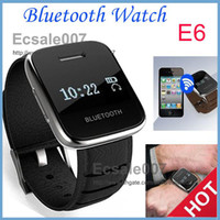 Wholesale Brand New Bluetooth Smart Watch Phone E6 With Wifi Function Show The Incoming Call Name and Number