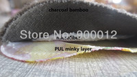 pul - Pairs Nursing Pads PUL Waterproof Breathable Colorful Mummy Charcoal Bamboo Fiber breast pad Super Absorbency