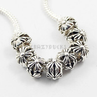 Wholesale 925 Silver Beads charm For Pandora Big Hole Loose Beads charms DIY Jewelry Bracelet For European P01